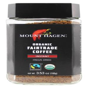 Mount Hagen Organic Decaf Instant Coffee 1